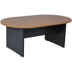 Table de Réunion Ovale en bois