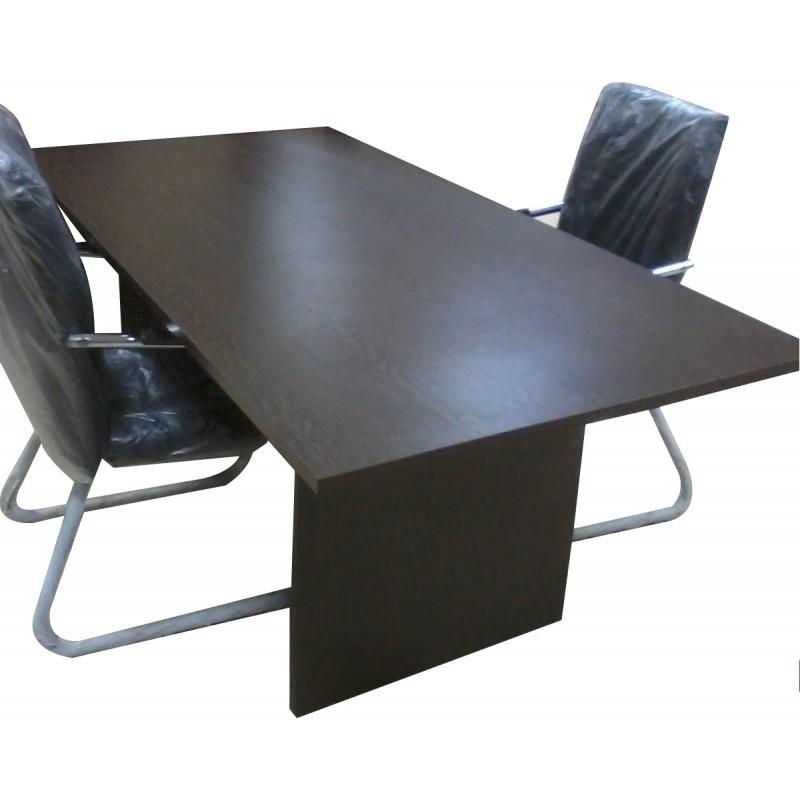 Table de Réunion Réctangulaire en bois ~ Table Bois Rectangulaire