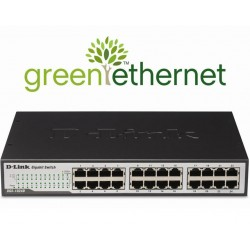 SWITCH 24 PORTS D-LINK 10/100/1000 RACKABLE