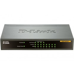 SWITCH DLINK 8 PORTS 4POE 10/100