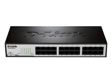 SWITCH 24 PORT D-LINK 10/100