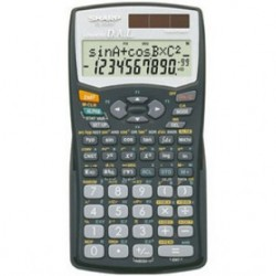 CALCULATRICE SHARP EL-506W-BK